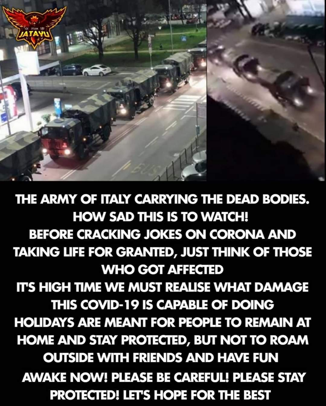 Current Situation in Italy!
