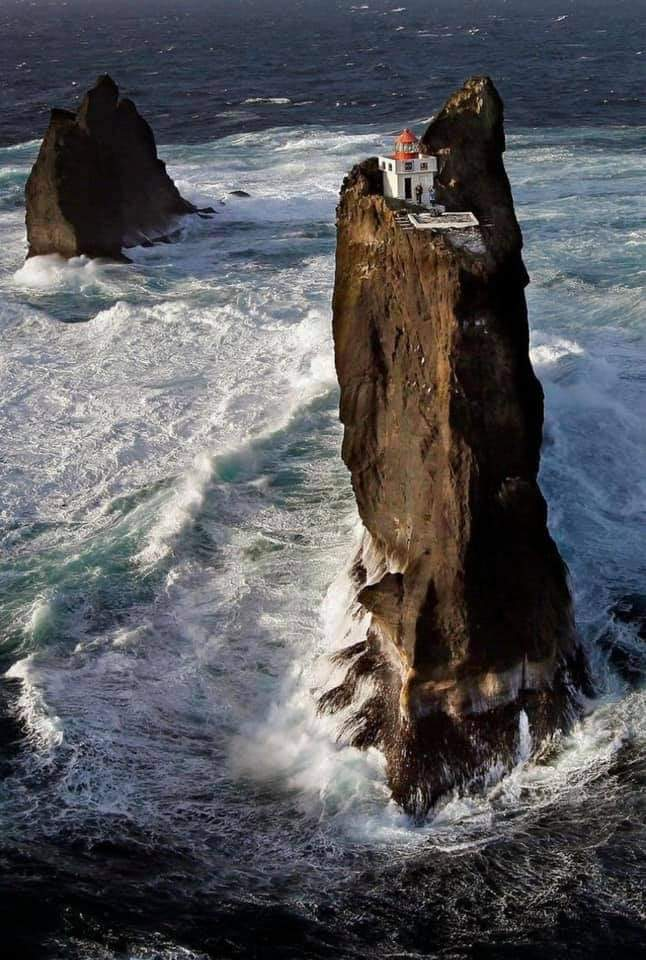 Tridrangar lighthouse - the most secluded place on Earth